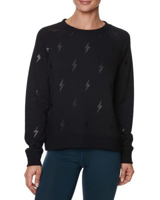 Image of LIGHTING IT UP SWEATSHIRT IVORY