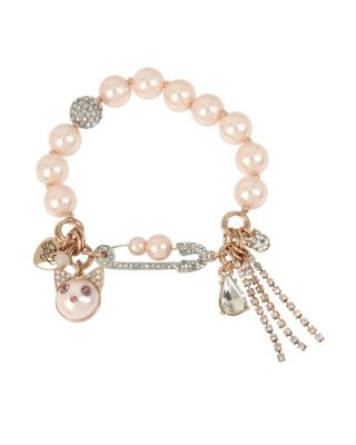 LITTLE ANGELS CAT BRACELET PINK