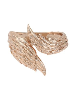 LITTLE ANGELS WING BANGLE CRYSTAL