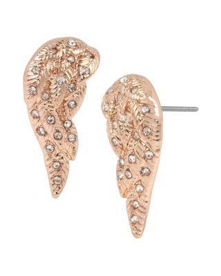 Image of LITTLE ANGELS WING STUDS CRYSTAL