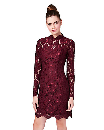 LOVE IN LACE LONG SLEEVE DRESS