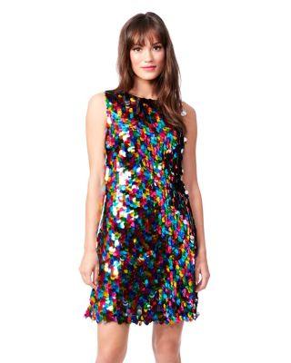 Shop Now: LOVE IS LOVE IS LOVE DRESS MULTI (RMNOnline.net)