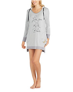LOVE YOU TO THE MOON HOODIE TUNIC