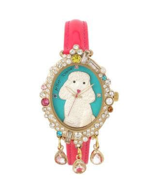 LUCY GIRL THE POODLE WATCH PINK