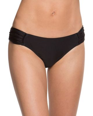 MALIBU SOLIDS HIPSTER BOTTOM BLACK