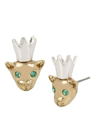 MARIE ANTOINETTE CROWED MOUSE STUD MULTI