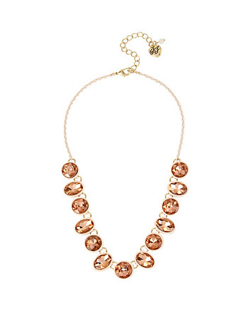 MARIE ANTOINETTE ROUND STUD FRONTAL NECKLACE