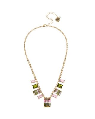 MARIE ANTOINETTE WATERMELON FRONTAL NECKLACE MULTI