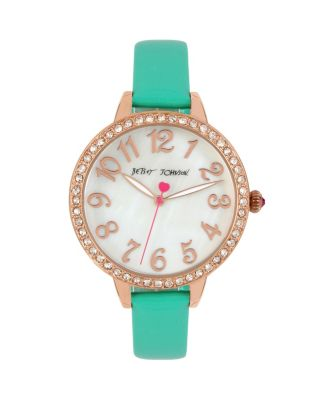 METALLIC GREEN MINI WATCH GREEN
