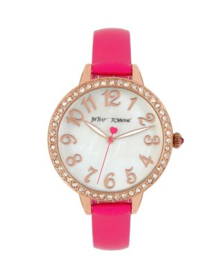 METALLIC PINK MINI WATCH PINK