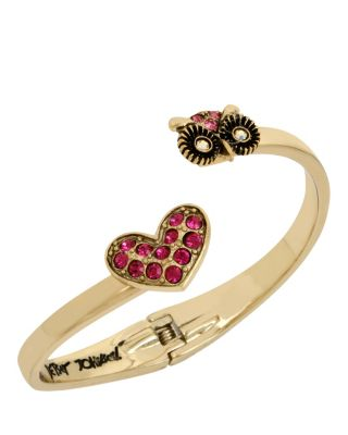 MINI CRITTERS OWL BANGLE PINK