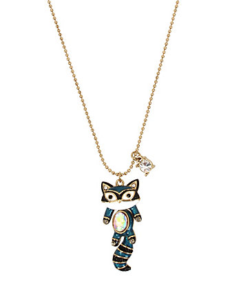 MINI CRITTERS RACCOON PENDANT
