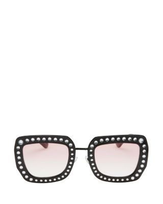MY OH MY BLING SUNGLASSES BLACK