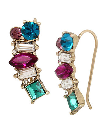 MYSTIC BAROQUE CRAWLER EARRINGS