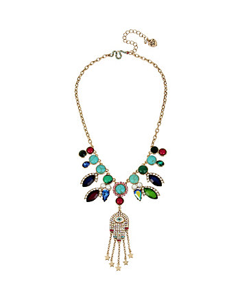 MYSTIC BAROQUE HAMSA NECKLACE