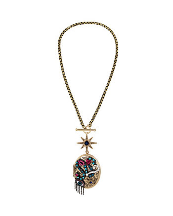 MYSTIC BAROQUE LOCKET PENDANT
