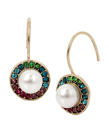 MYSTIC BAROQUE PEARL DROP EARRINGS
