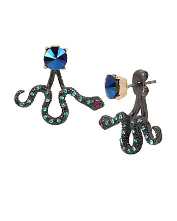 MYSTIC BAROQUE SNAKE EARRINGS
