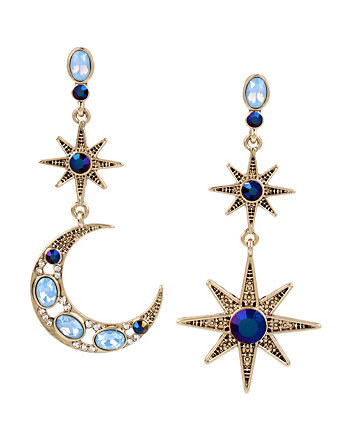 MYSTIC BAROQUE STAR MOON EARRINGS