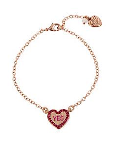 NOT YOUR BABE HEART ANKLET