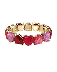 NOT YOUR BABE OMBRE HEART BRACELET