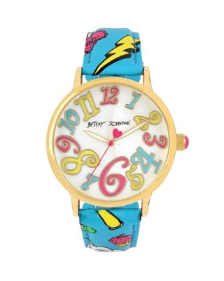 OH SO BETSEY EMOJI WATCH MULTI