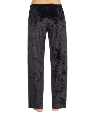 OUT OF THIS WORLD VELVET PANT BLACK