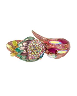Image of PARADISE LOST PARROT HINGE BANGLE MULTI