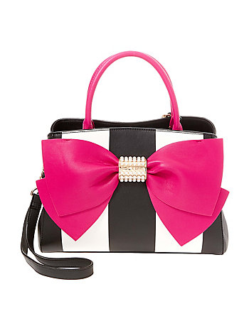 PEARL OF A GIRL BOW SATCHEL