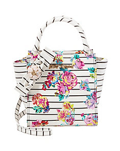 PETAL TO THE METAL NORTH SOUTH TOTE