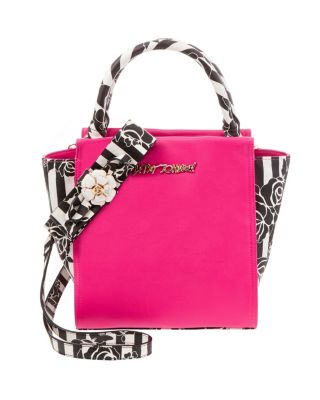 PETAL TO THE METAL NORTH SOUTH TOTE FLORAL