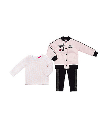 PINK LADY TOO 4-6X 3 PIECE JACKET SET