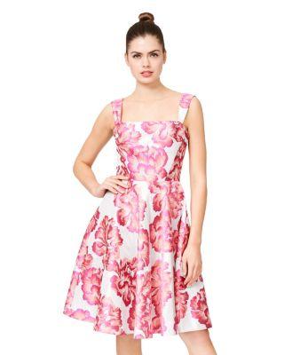 PRETTY IN PINK FLOWERS DRESS PINK MULTI