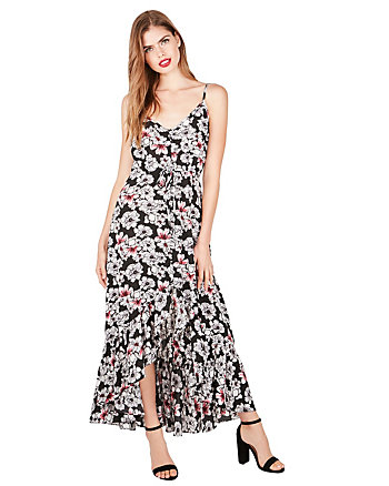 PRETTY PETALS HIGH LOW MAXI DRESS