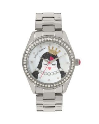 PRINCESS PENGUIN LINK WATCH SILVER