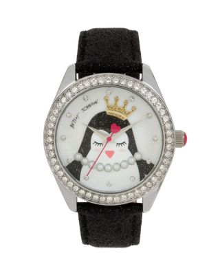 PRINCESS PENGUIN WATCH BLACK