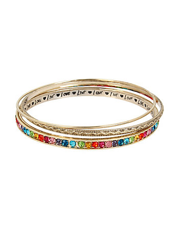 RAINBOW CONNECTION BANGLE SET