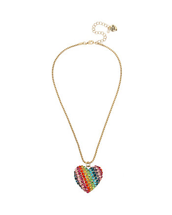 RAINBOW CONNECTION HEART PENDANT