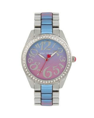 RAINBOW FACE BLUE MULTI WATCH BLUE MULTI