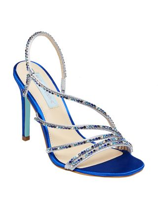 Sb-Aces Blue Satin by Betsey Johnson
