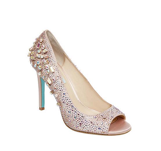 Bridal flats heels sandals betsey johnson wedding shoes sb brook junglespirit Gallery