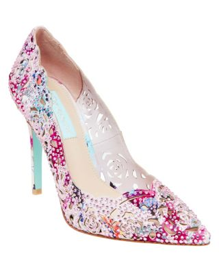 Sb-Elsa Silver Fabric by Betsey Johnson