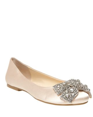 Sb-Ever Champagne Satin by Betsey Johnson