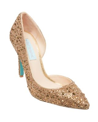 Sb-Hazil Gold by Betsey Johnson