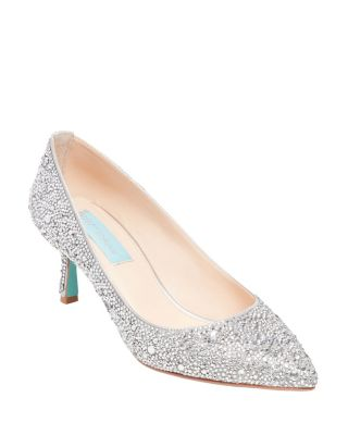 Sb-Jora Silver Satin by Betsey Johnson