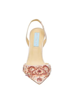 Sb-Sonia Blush Stn by Betsey Johnson