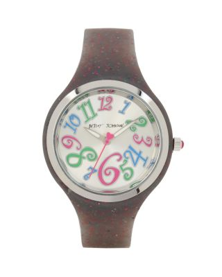 SILICONE GLITTER RAINBOW WATCH RAINBOW MU