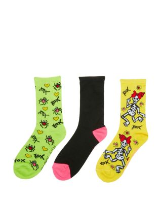 Image of SKELEBETSEY HALLOWEEN CREW 3 PACK MULTI