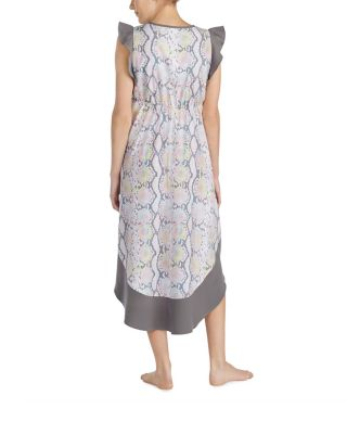 Image of SNAKE CHARMER RUFFLE MAXI FLORAL
