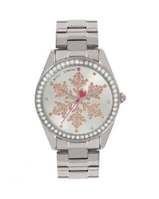 SNOWFLAKE SEASON SILVER WATCH SILVER